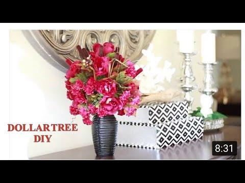 DOLLAR TREE CENTERPIECE DIY
