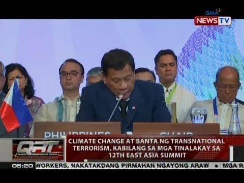 QRT: Climate change at banta ng transnational terrorism, kabilang sa mga tinalakay