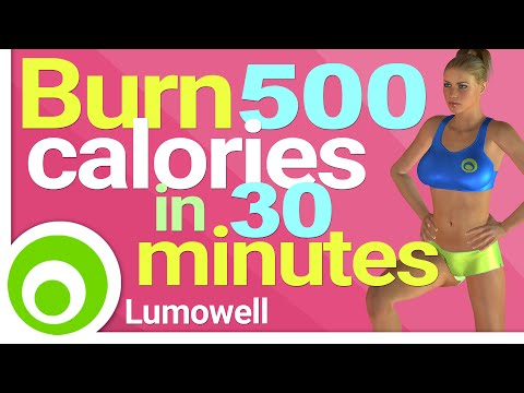 Burn 500 Calories in 30 Minutes at Home Fat Burning Workout
