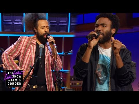 Donald Glover & Reggie Watts Make Music