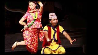 Hamro Thau - SB Shahi and Nirmala Ghising - Lyrics Video   New Nepali Lok Pop Song 2016
