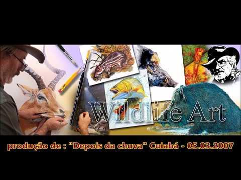 """Depois da Chuva"" - FRANCISCO CHARNECA - WILDLIFE ART"