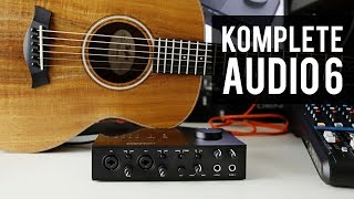 Komplete Audio 6 mk2 | New Audio Interface by Native Instruments