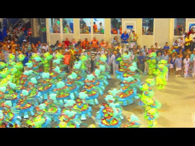 BRAZIL - Sambodromo dance & colors, Carnaval de Rio 2015