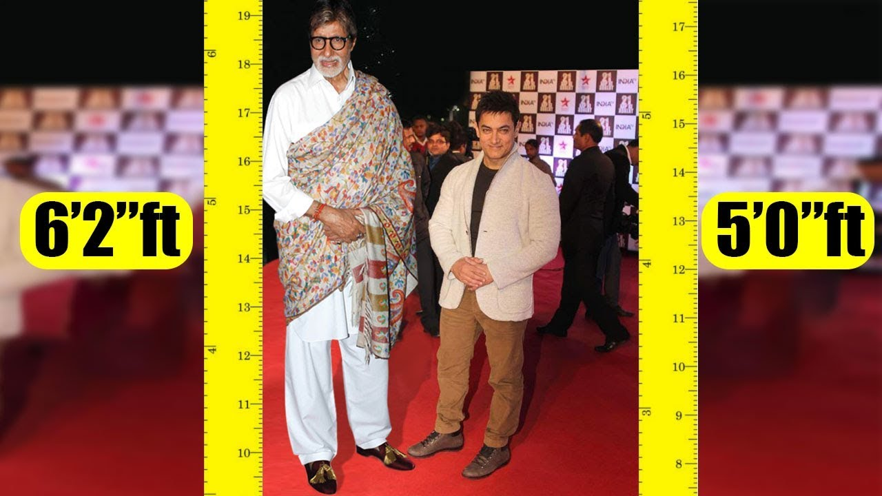 Shortest To Tallest All Bollywood Actors Real Height Youtube