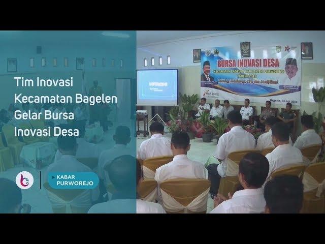 Tim Inovasi Kecamatan Bagelen Gelar Bursa Inovasi Desa