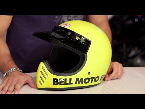 Bell Motorcycle Helmet >> Bell Moto 3 Helmet Review at RevZilla.com - YouTube