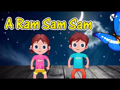 A Ram Sam Sam I Happy Song I Rhymes & Kids Songs I Nursery Songs