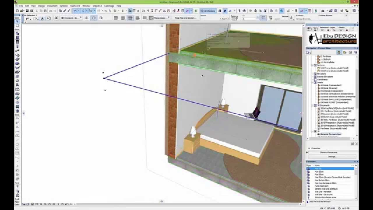 Archicad interior design tutorial home design - Kitchen design tutorial ...