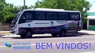 População do Alto Santo ganha ÔNIBUS para transporte sanitário de pacientes