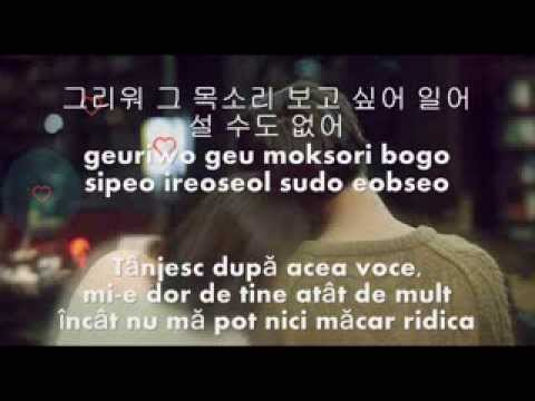 Lim Chang Jung - A Guy Like Me (Romanian Subs+Hangul+Romanization)