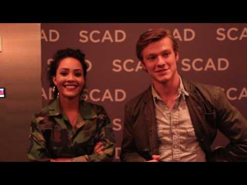 MacGyver's Lucas Till and Tristin Mays - aTVfest 2017