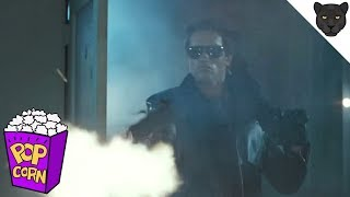 THE TERMINATOR | Police Shootout Scene