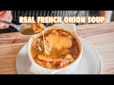 Easy Homemade French Onion Soup