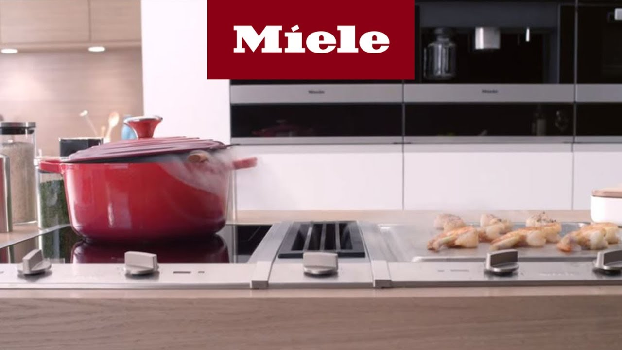miele combisets der miele tischl fter i miele youtube. Black Bedroom Furniture Sets. Home Design Ideas