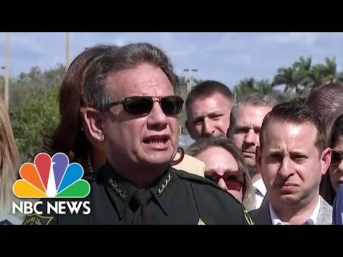 Florida Sheriff Scott Israel Pleads For 'Power' To Detain People For Social Media Threats | NBC News