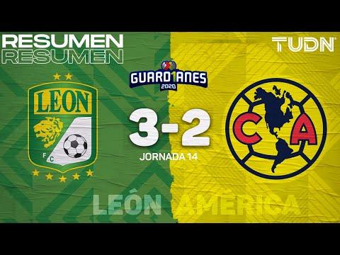 Resumen y goles | León 3-2 América | Guard1anes 2020 Liga Mx - J14 | TUDN