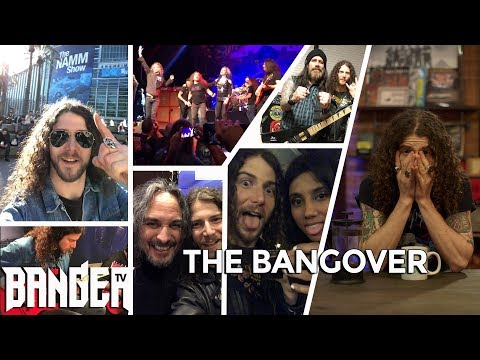 Bangover with Daniel Dekay: NAMM 2019 with Marty Friedman, Metal Allegiance and so many guitars