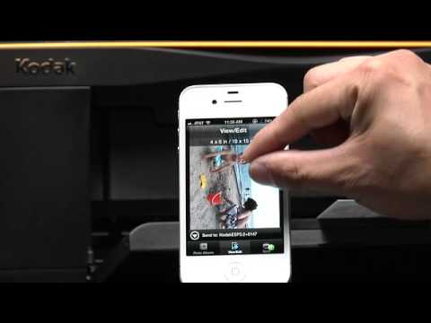Prints Photos Stored On Your Smartphone Directly To Your Kodak