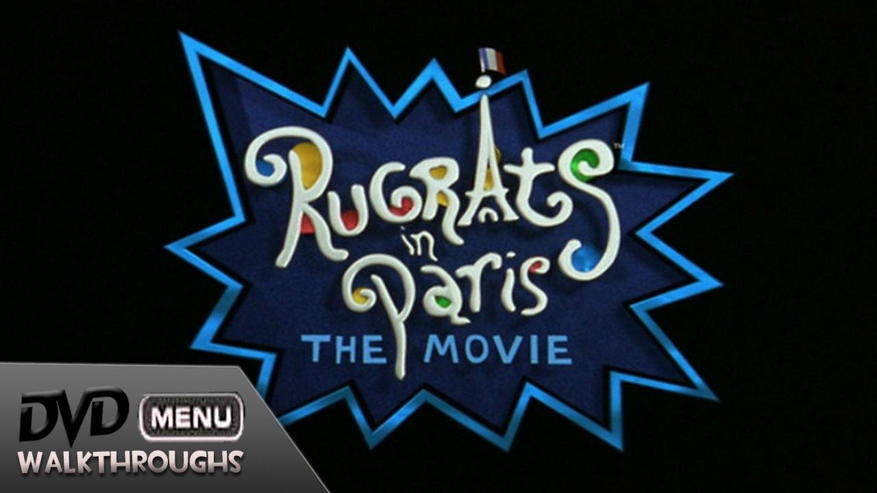 Rugrats In Paris (2000, 01) DvD Menu Walkthrough - YouTube