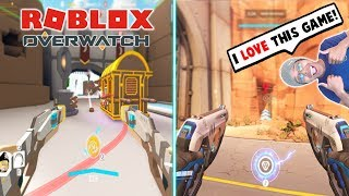 *NEW* BEST SHOOTER GAME IN ROBLOX! (Q-Clash Beta) - Roblox Overwatch Gameplay