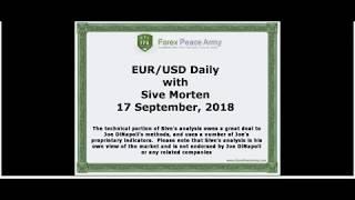 Forex Peace Army | Sive Morten EURUSD Daily 09.17.18