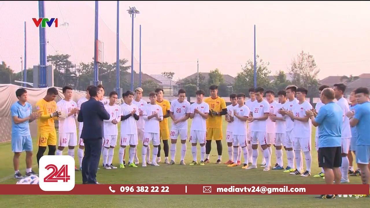 U23 Việt Nam sẵn sàng cho trận đấu gặp U23 Triều Tiên | VTV24