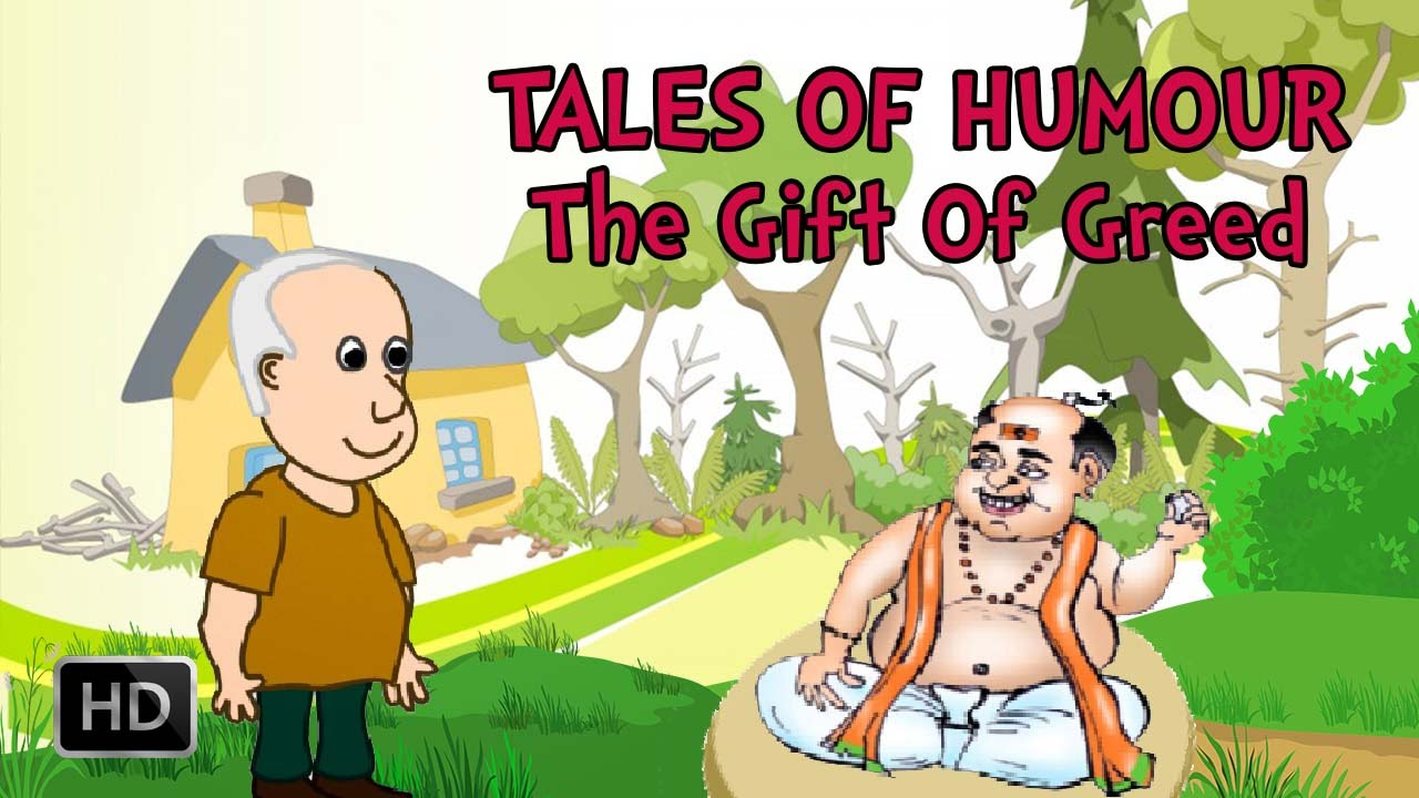 Tales of Humour - The Gift Of Greed - Moral Stories for Children ...