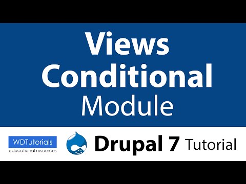 Drupal 7 - How To Display Conditional Data With Views