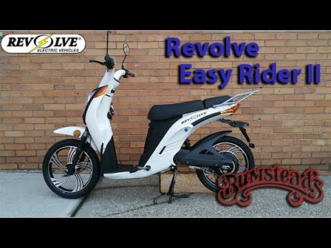 Presenting: Revolve Easy Rider II Electric Bike Available Now At Bumsteads!