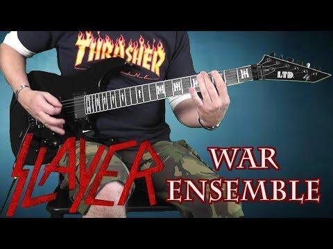 Slayer - War Ensemble - Guitar Cover mp3