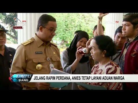 Rapim Perdana Gubernur DKI Jakarta