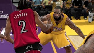 🏀 '19 RAPTORS vs. LAKERS | NBA 2K10 | 4K 60fps | PC Gameplay
