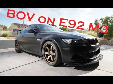 How to Install a Blow Off Valve on your e92 M3!