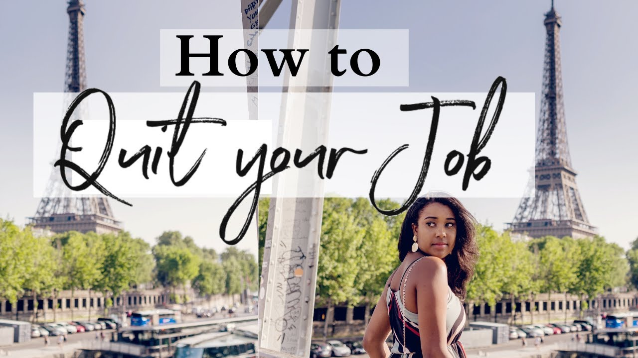 How to Quit Your Job and Move to PARIS | Styled by Olivia