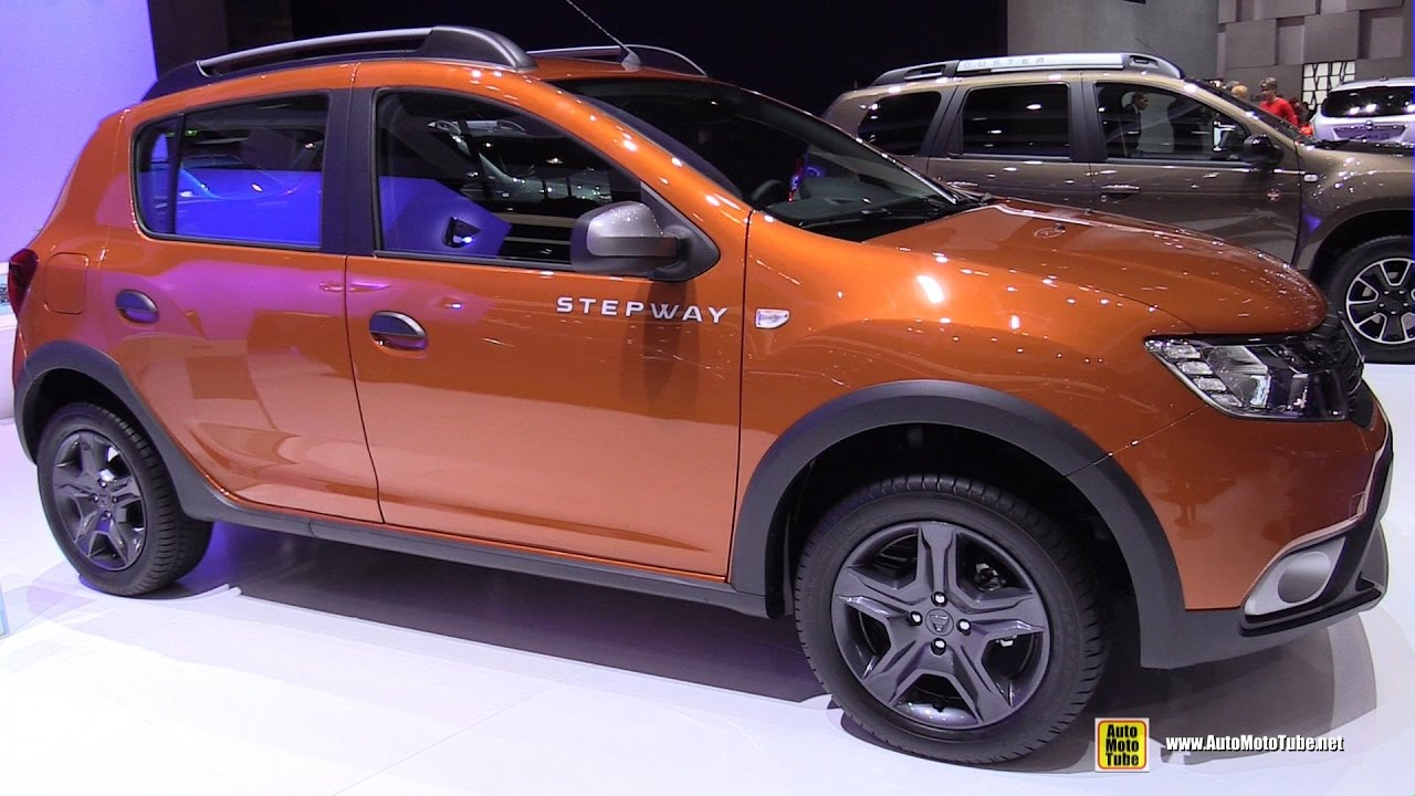 2017 dacia sandero stepway exterior and interior. Black Bedroom Furniture Sets. Home Design Ideas