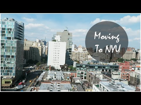 Moving to NYU | VLOG