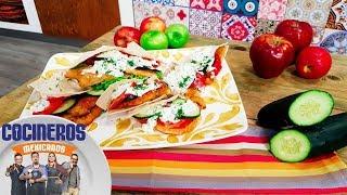 Receta: MIlanesa con salsa fresca de manzana | Cocineros Mexicanos