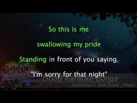 Back To December - Taylor Swift ( Karaoke Lyrics )