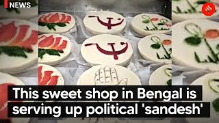 This sweet shop in Bengal is serving up political 'Sandesh' | Bengal Election 2021