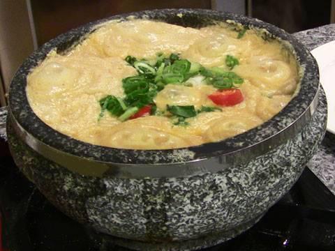 Ground-soybean stew (