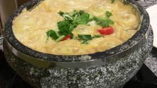 """Ground-soybean Stew (""""kongbiji Jjigae"""":콩비지찌개)"""