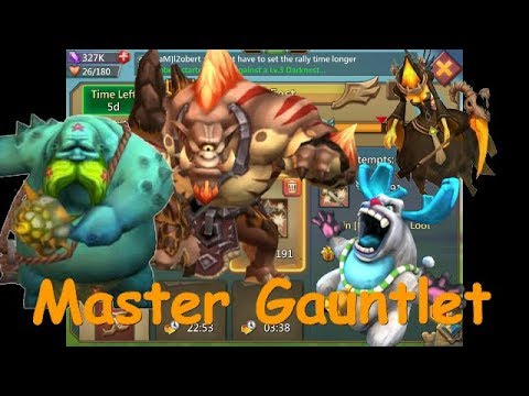 Lords Mobile! Master Gauntlet. Pay To Win Tier.