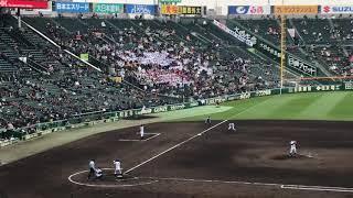 2019.3.25 選抜高校野球 札幌第一高校×山梨学院高校 札幌第一高校 2番打者 大坪選手応援歌の新宝島です。