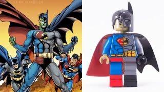 LEGO DC vs MARVEL - Minifigures VS Comics etc.