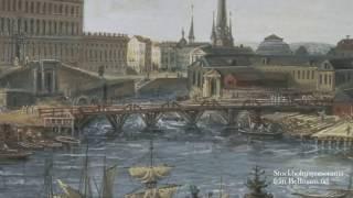 Stockholmspanorama från Bellmans tid