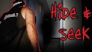 HIDE & SEEK IN HAUNTED GHOST TOWN - 3AM CHALLENGE | OmarGoshTV