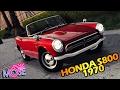 GTA 5 МОДЫ - 1970 Honda S800 Cabriolet