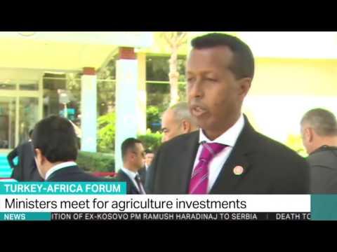 Turkey-Africa Forum Somalia's Foreign Minister Yusuf Garaad
