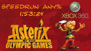 Astérix aux jeux Olympiques speedrun 1:53:24